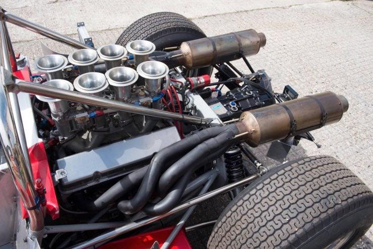 mclaren m1b can am car 23 740x493 - 1965 McLaren M1B Group 7 Can-Am Racer