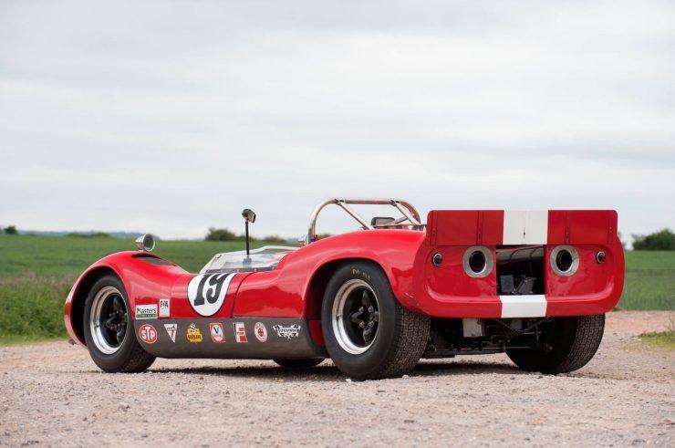 mclaren m1b can am car 5 740x491 - 1965 McLaren M1B Group 7 Can-Am Racer