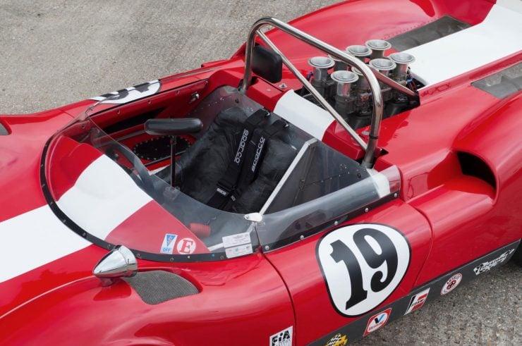 mclaren m1b can am car 9 740x491 - 1965 McLaren M1B Group 7 Can-Am Racer