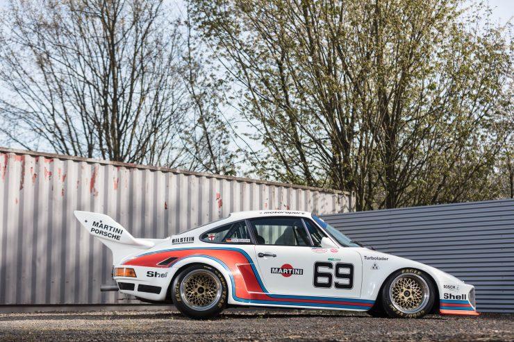 porsche 934 5 1 740x493 - 1976 Porsche 934/5 Kremer Group 4