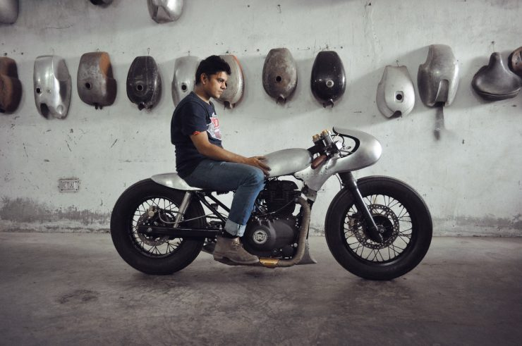 royal enfield himalayan custom 1 740x491 - The World's Fastest Royal Enfield Himalayan