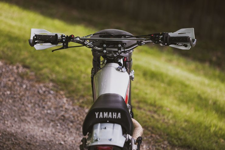 yamaha hl500 motorcycle 1 740x493 - Husky Restorations Yamaha HL500