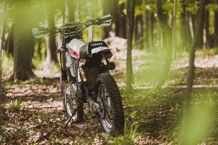 yamaha hl500 motorcycle 10 740x493 - Husky Restorations Yamaha HL500