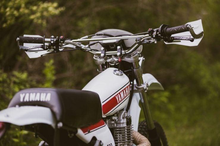 yamaha hl500 motorcycle 16 740x493 - Husky Restorations Yamaha HL500