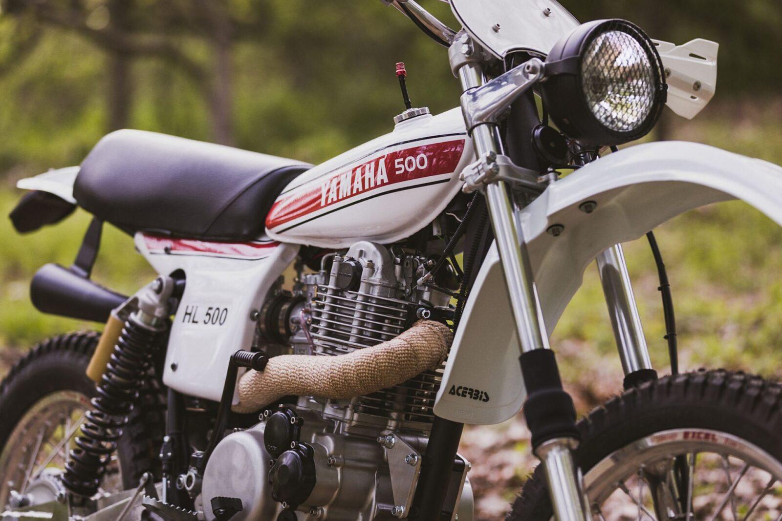 yamaha hl500 motorcycle 22 1600x1067 - Husky Restorations Yamaha HL500