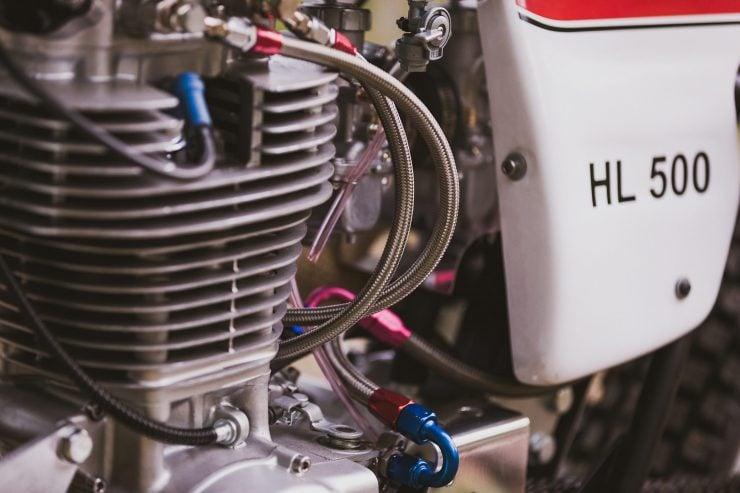 yamaha hl500 motorcycle 23 740x493 - Husky Restorations Yamaha HL500