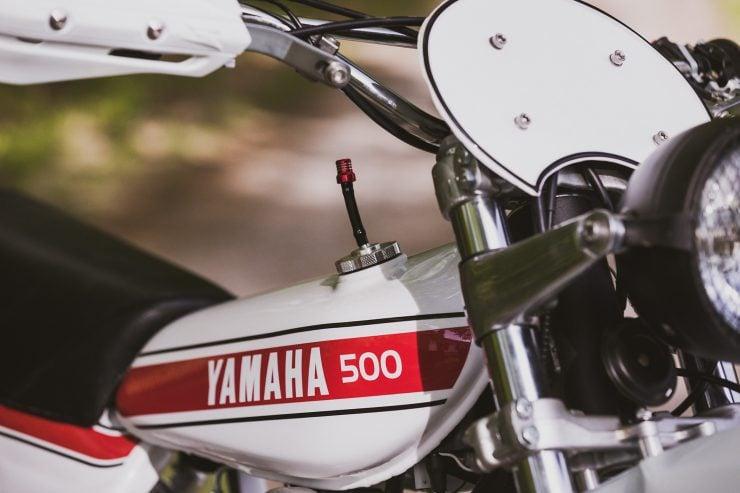 yamaha hl500 motorcycle 3 740x493 - Husky Restorations Yamaha HL500