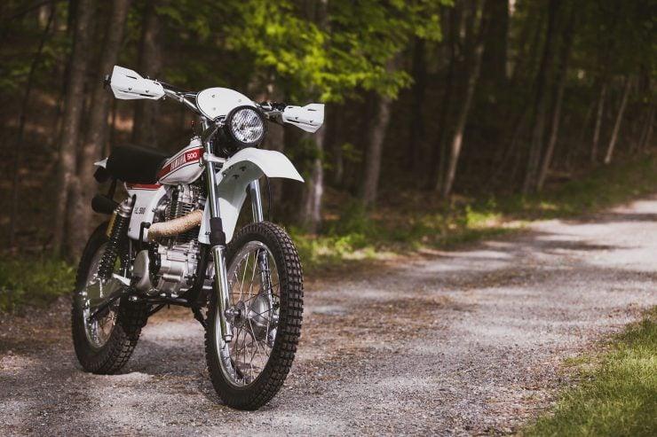 yamaha hl500 motorcycle 5 740x493 - Husky Restorations Yamaha HL500