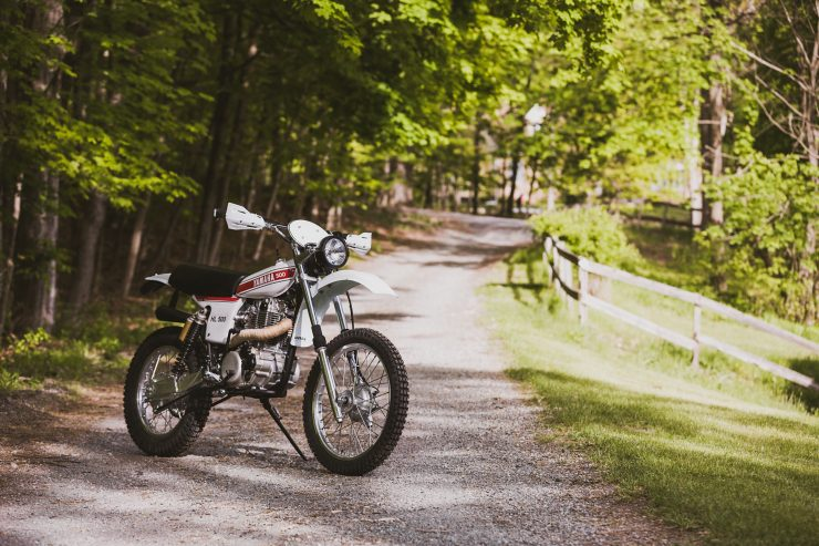 yamaha hl500 motorcycle 6 740x493 - Husky Restorations Yamaha HL500