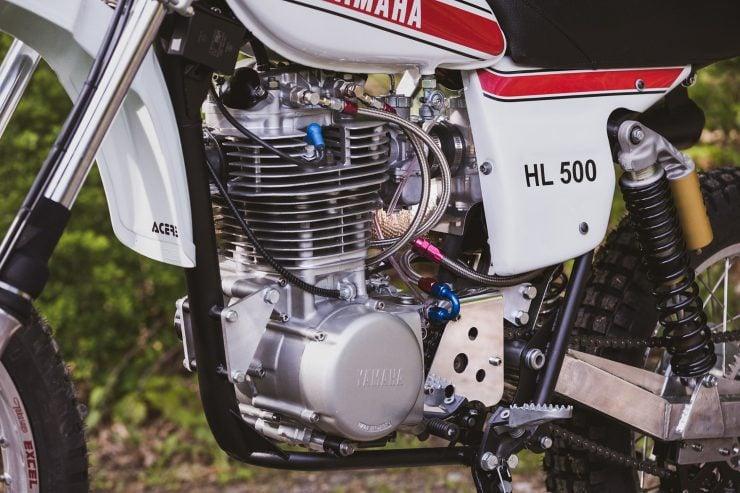 yamaha hl500 motorcycle 7 740x493 - Husky Restorations Yamaha HL500