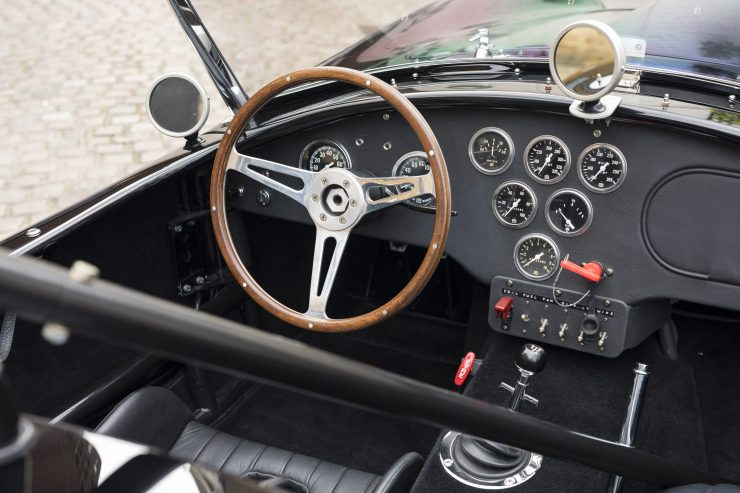 AC Cobra Shelby Steering Wheel 740x493 - 1964 AC Cobra 289