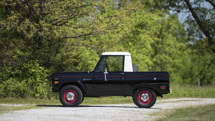 Ford Bronco Half Cab 1 740x416 - 1969 Ford Bronco Half Cab
