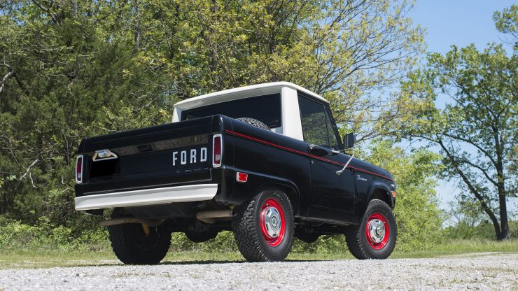 Ford Bronco Half Cab 2 740x416 - 1969 Ford Bronco Half Cab