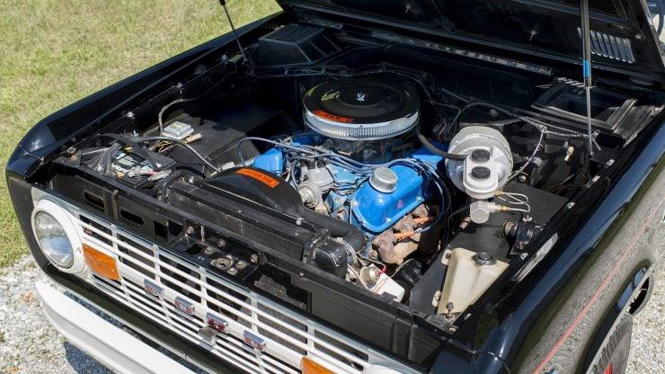 Ford Bronco Half Cab 5 740x416 - 1969 Ford Bronco Half Cab