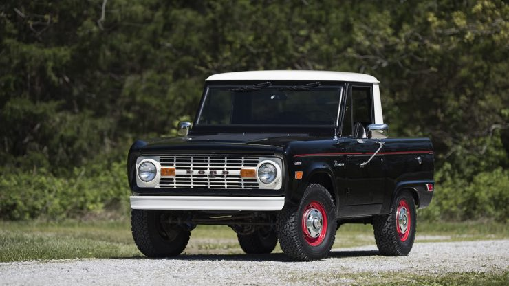 Ford Bronco Half Cab 740x416 - 1969 Ford Bronco Half Cab