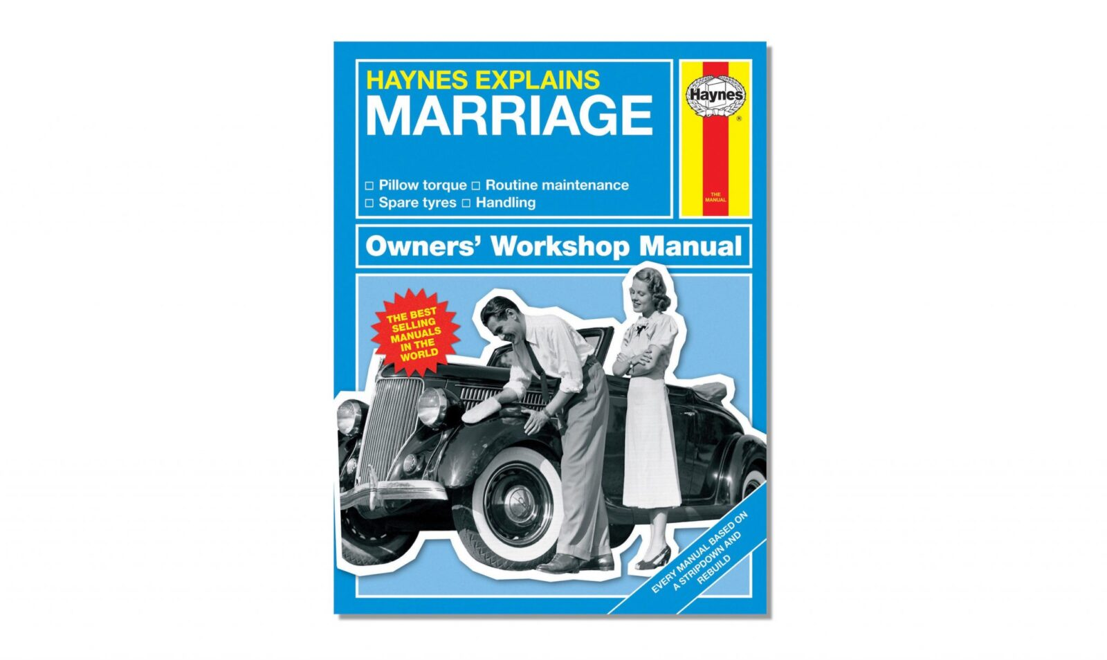 Haynes Owners Workshop Manual Marriage 1600x954 - Haynes Owner's Workshop Manual: Marriage