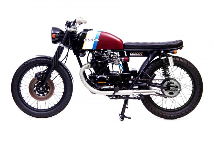 Honda CB200 2 740x493 - Slipstream Creations Honda CB200