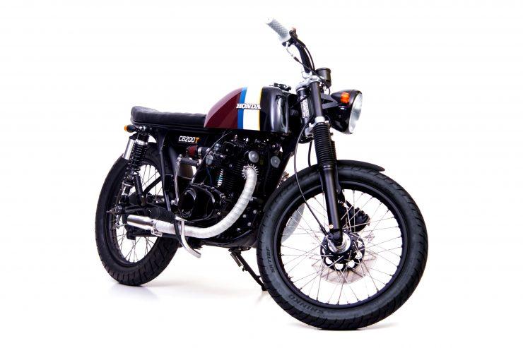 Honda CB200 3 740x493 - Slipstream Creations Honda CB200