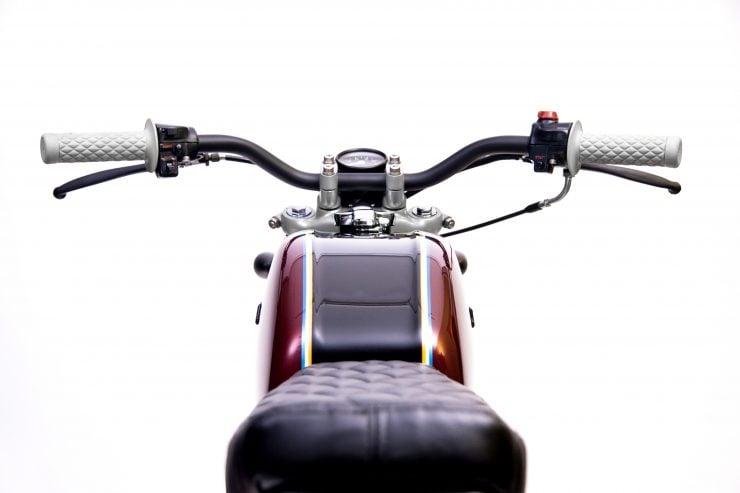Honda CB200 4 740x493 - Slipstream Creations Honda CB200
