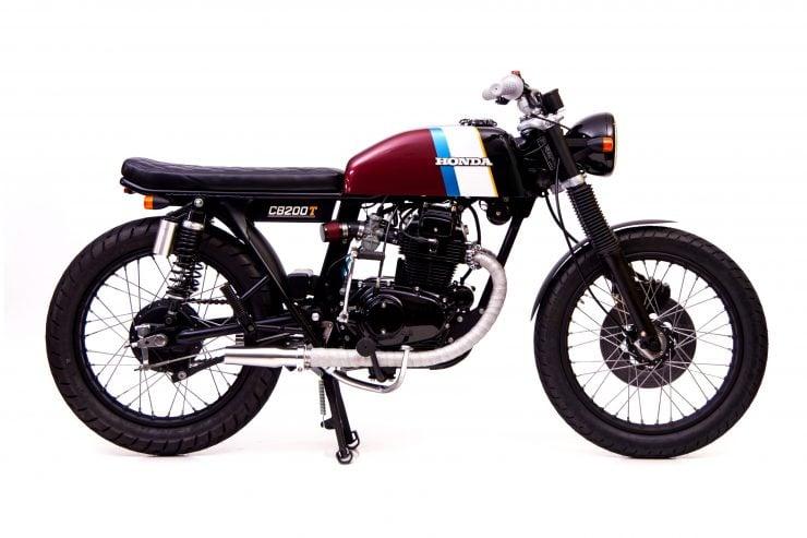 Honda CB200 6 740x493 - Slipstream Creations Honda CB200