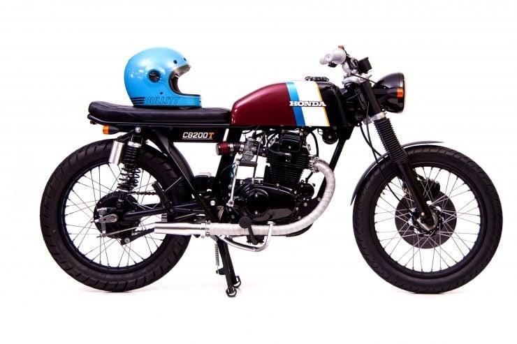 Honda CB200 740x493 - Slipstream Creations Honda CB200