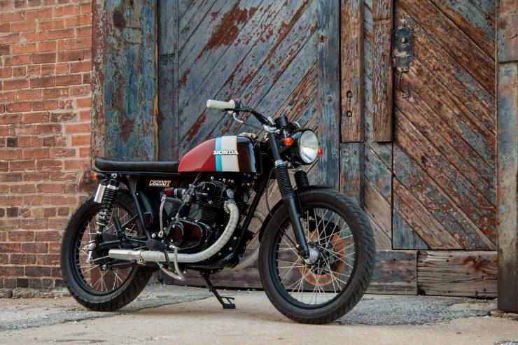 Honda CB200T 740x493 - Slipstream Creations Honda CB200