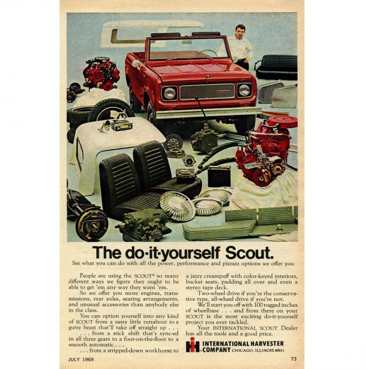 International Harvester Scout Ad Page 3 740x746 - Essential Buying Guide: International Harvester Scout 80 + 800