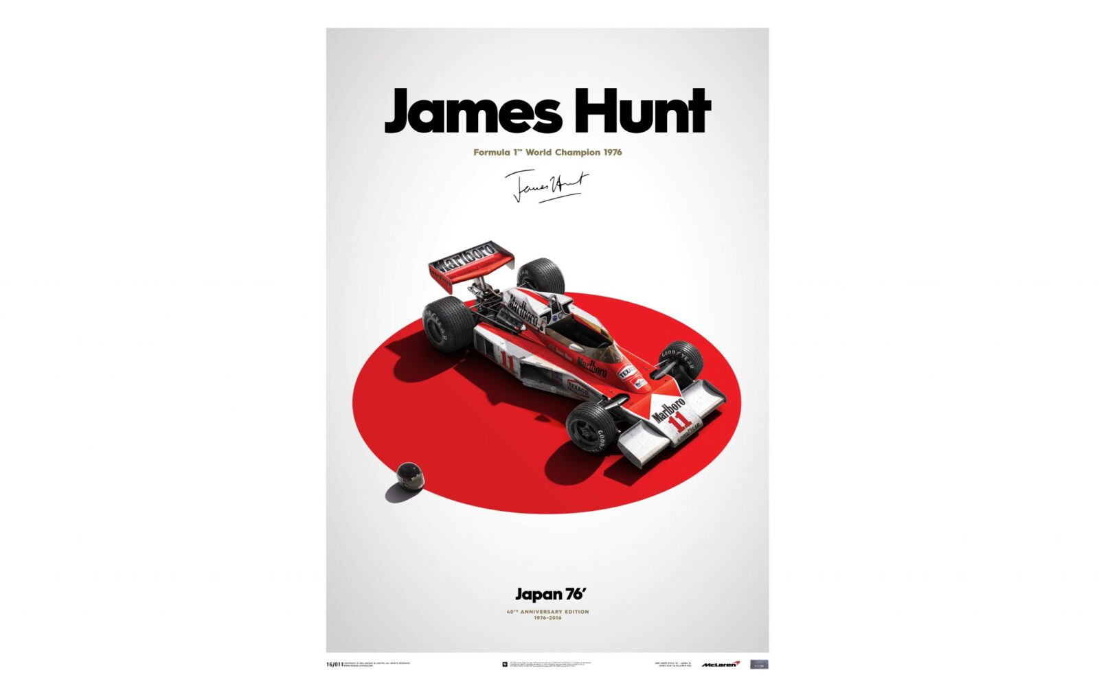 James Hunt Poster 1600x1002 - James Hunt Poster Series