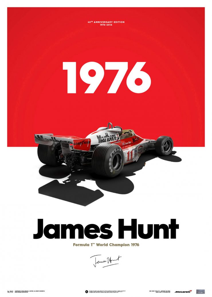 James Hunt Poster 2 740x1036 - James Hunt Poster Series