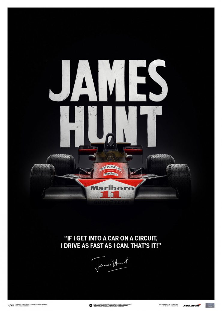 James Hunt Poster Series