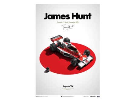 James Hunt Poster 450x330 - James Hunt Poster Series