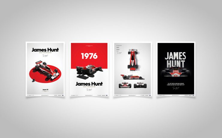 James Hunt Poster 5 740x461 - James Hunt Poster Series
