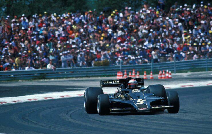 Mario Andretti Lotus 78 1977 740x469 - Documentary: Challenge for the Championship