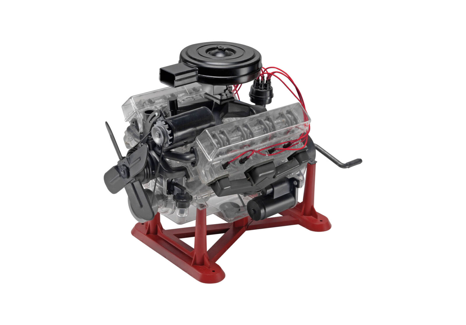 Revell 1 4 Scale Working V8 Model Engine 1600x1116 - Revell 1:4 Scale Working V8 Model Engine