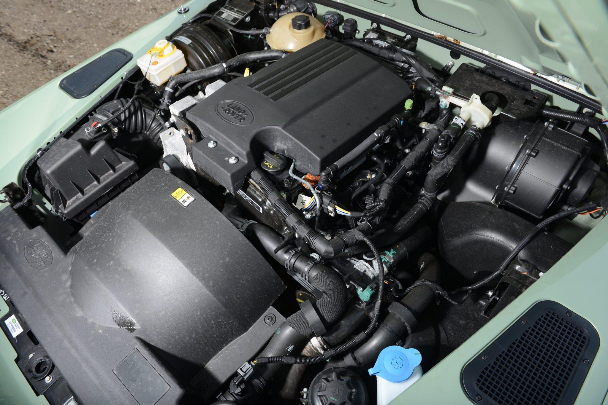 Rowan Atkinson's Land Rover Defender 1 - Rowan Atkinson's Land Rover Defender