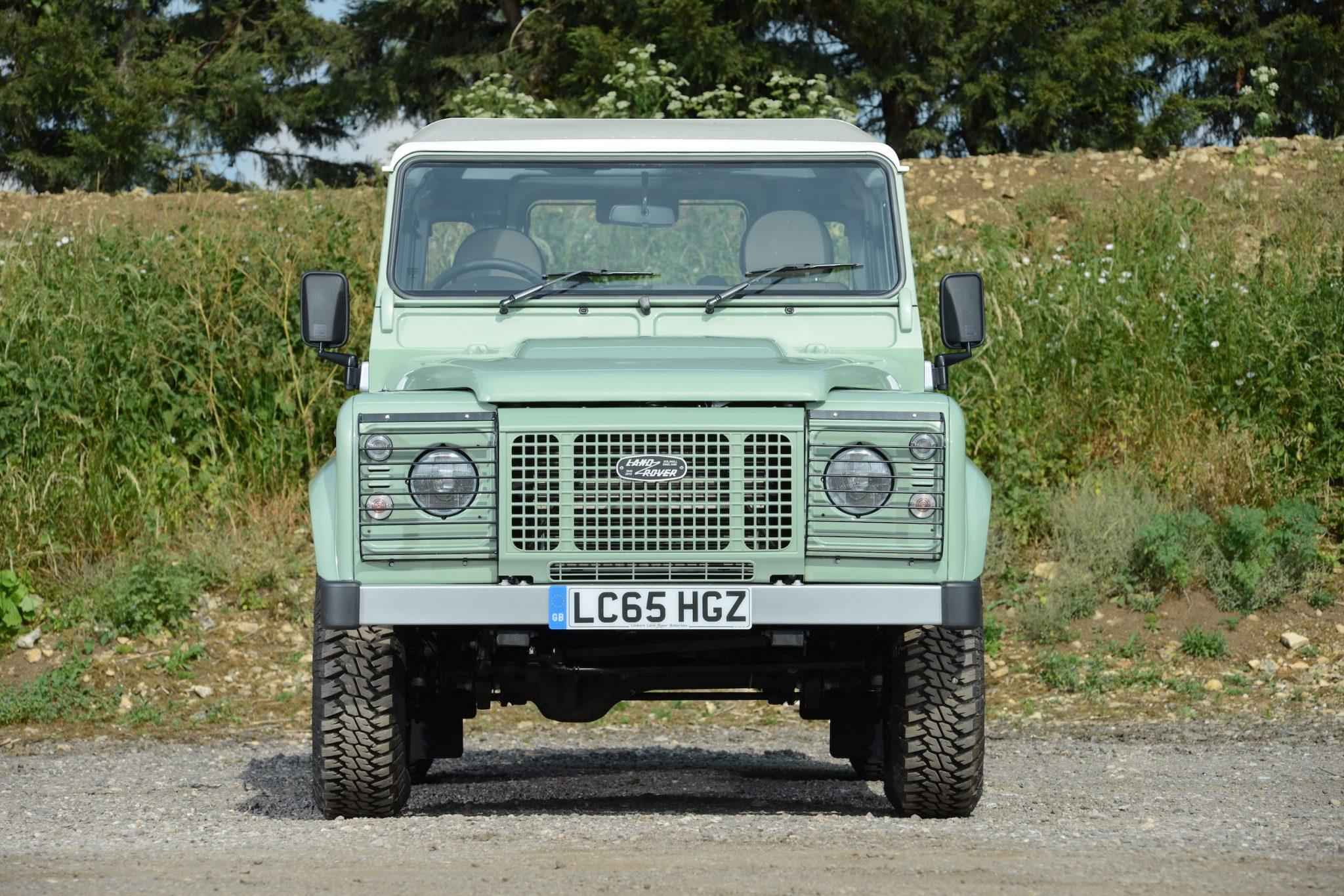 Rowan Atkinson's Land Rover Defender 4 - Rowan Atkinson's Land Rover Defender