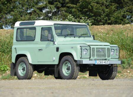 Rowan Atkinson's Land Rover Defender 450x330 - Rowan Atkinson's Land Rover Defender