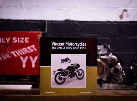 Vincent Motorcycles The Untold Story Since 1946 Book 450x330 - Vincent Motorcycles: The Untold Story Since 1946