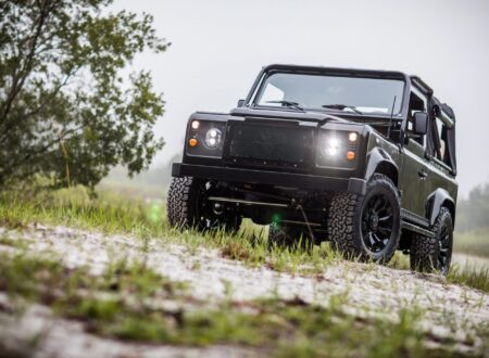 corvette engined land rover defender 13 450x330 - Corvette-Engined Land Rover Defender 90