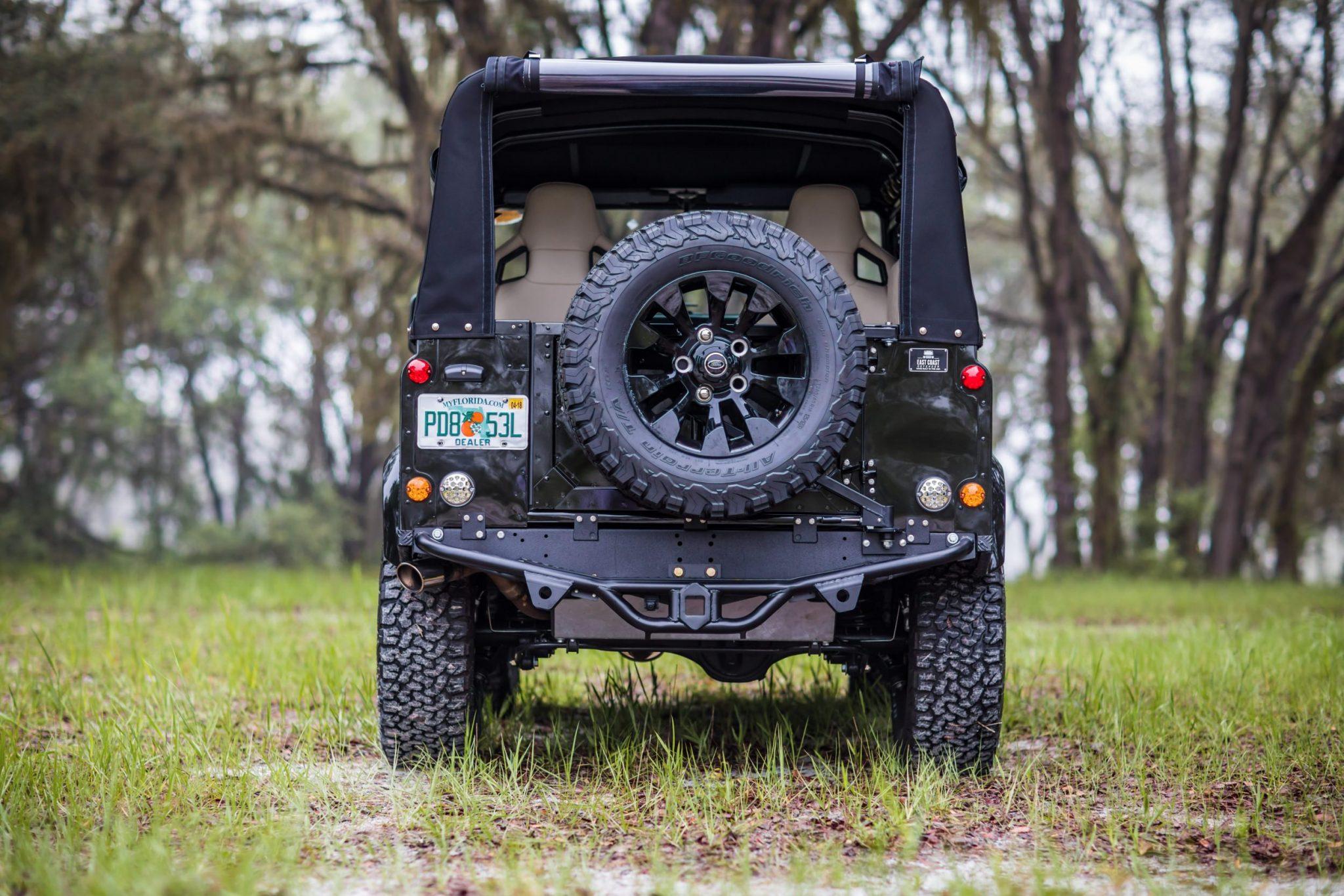 corvette engined land rover defender 15 - Corvette-Engined Land Rover Defender 90