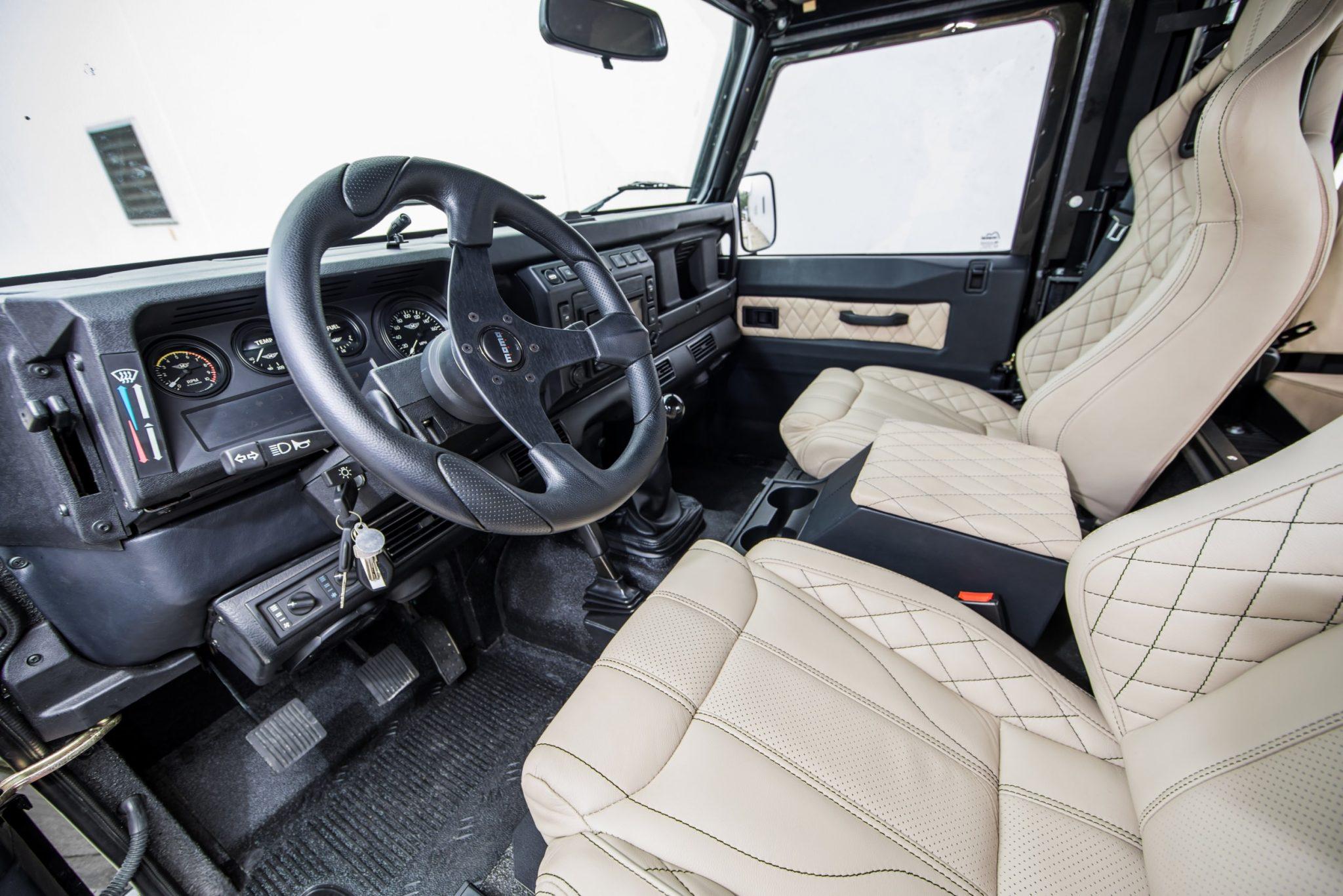 corvette engined land rover defender 26 - Corvette-Engined Land Rover Defender 90