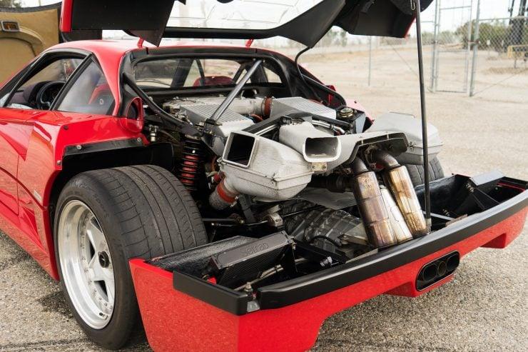 ferrari f40 1 740x493 - 1992 Ferrari F40
