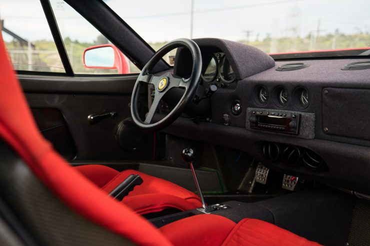 ferrari f40 10 740x493 - 1992 Ferrari F40