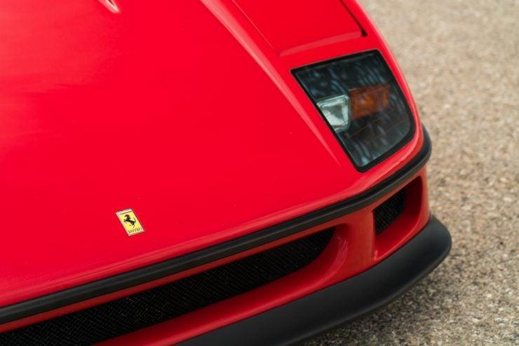ferrari f40 12 740x494 - 1992 Ferrari F40