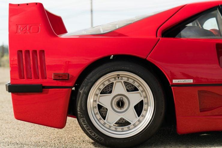 ferrari f40 15 740x494 - 1992 Ferrari F40