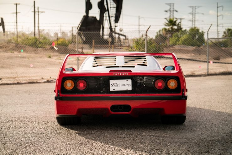 ferrari f40 20 740x494 - 1992 Ferrari F40