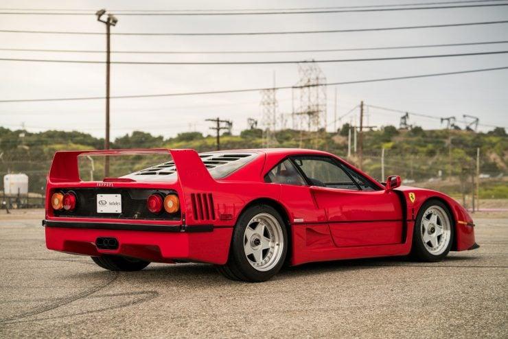 ferrari f40 22 740x494 - 1992 Ferrari F40