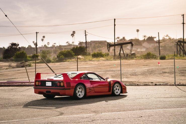 ferrari f40 24 740x494 - 1992 Ferrari F40