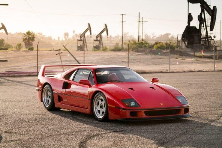 ferrari f40 26 740x494 - 1992 Ferrari F40