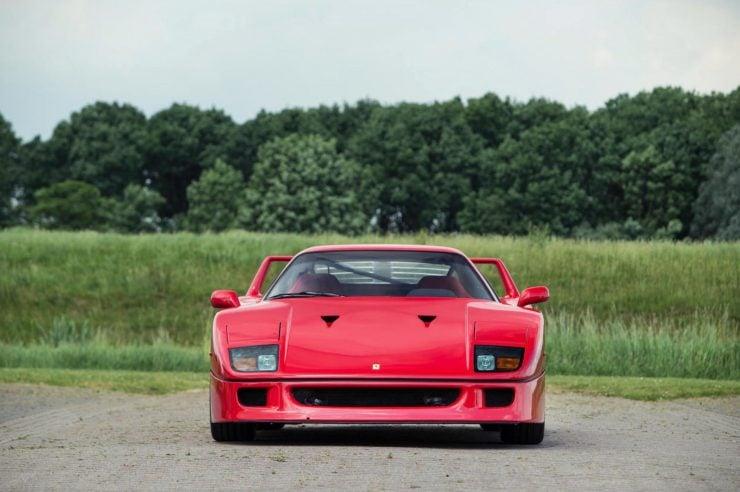 ferrari f40 car 2 740x492 - Ex-David Gilmour / Pink Floyd Ferrari F40